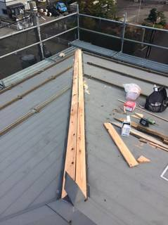 店舗屋根修繕