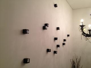 お店の装飾時計