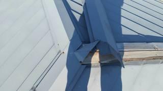 福井台風被害金属板金屋根飛ぶ