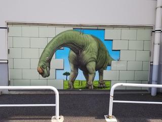 インスタばえ福井の名物恐竜