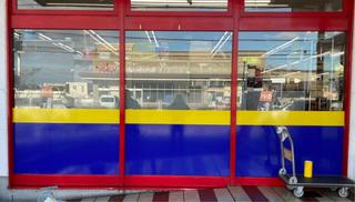 ガラス施工 黄色シート.jpg