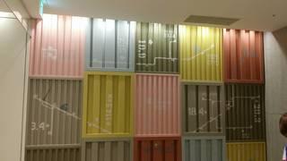 柔らかい色彩壁