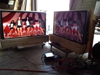 イベント展示会用レンタルTV