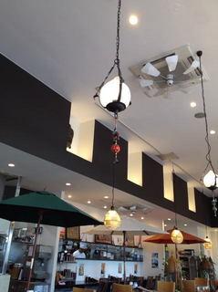 店舗の天井